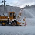 除雪ロータリー車